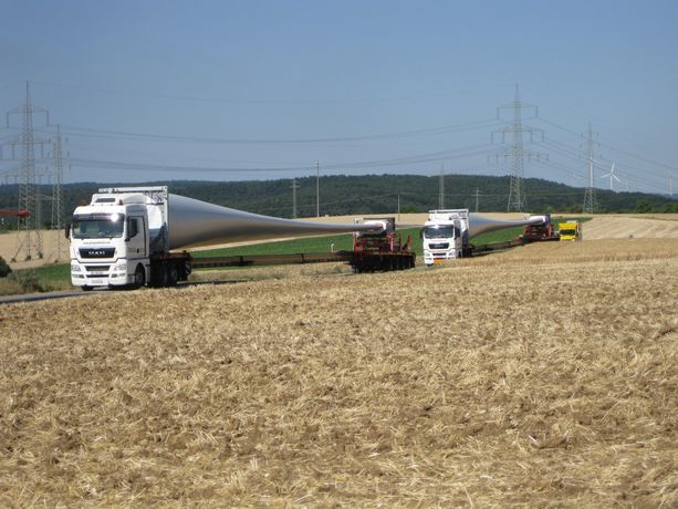 Windpark Kerzenheim Transport